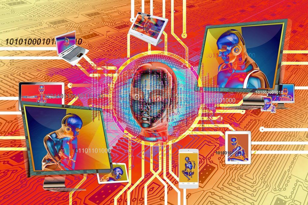 binary, one, cyborg